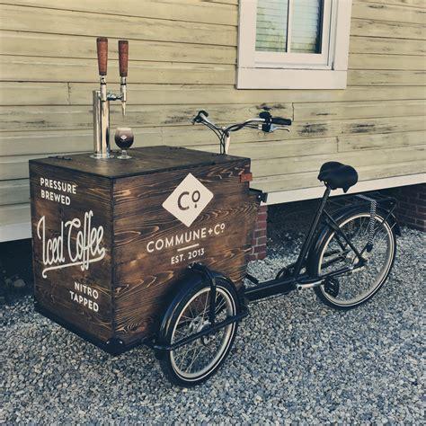 Unique Coffee florida man builds nitro cold brew coffee tricycle