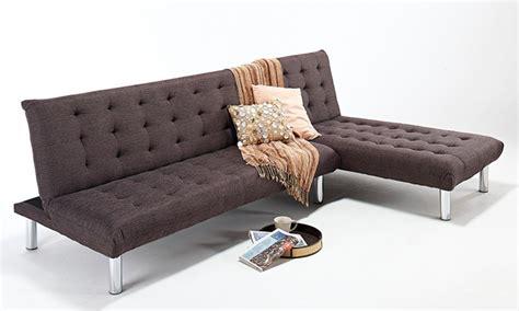 milan sofa bed milan corner sofa bed groupon