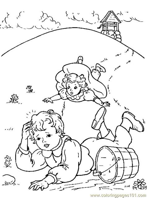 preschool coloring pages jack and jill jack and jill part two christmas lights pinterest