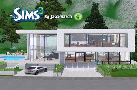 home design for the sims 3 unique modern sims 3 house plans new home plans design