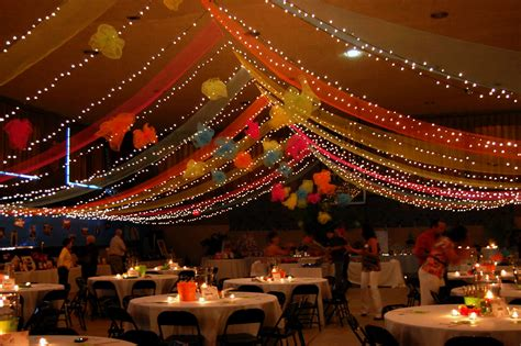 ceiling decoration party ideas by mardi gras outlet draped deco poly mesh