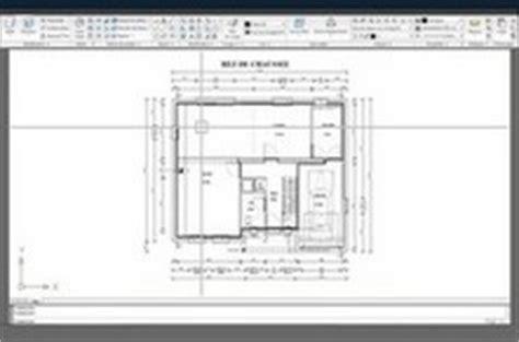 veranda dwg exemple dossier dwg plans de maison moderne