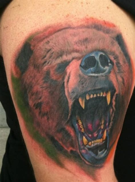 grizzly bear tattoo tattoos our top 15 grizzly designs