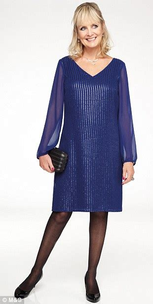 blue blouse for christmas party twiggy s collection for m s lbds sparkly tops and the return of the sell out