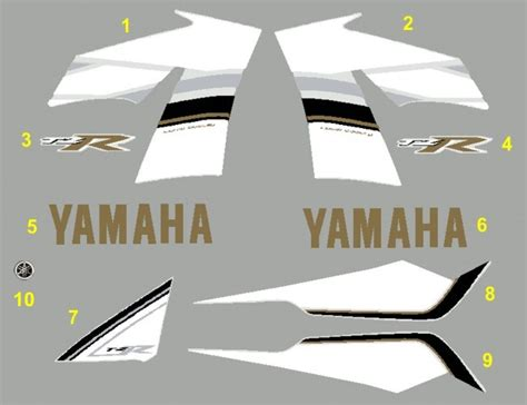Yamaha Tzr Aufkleber by Tzr 50 2008 Blue 4 00 Motor Stickers The Best