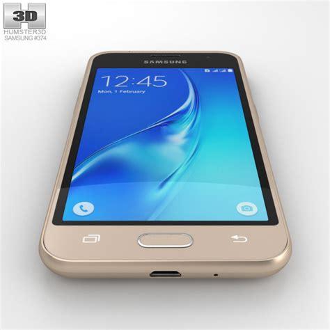 Samsung J1 Gold samsung galaxy j1 2016 gold 3d model humster3d