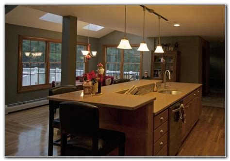 diy kitchen island with sink and dishwasher trendyexaminer