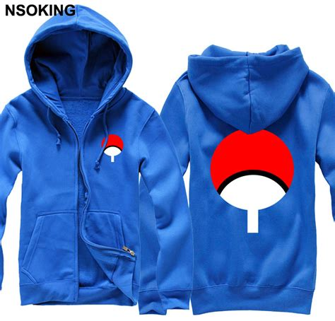 new sasuke uchiha hoodie anime jacket caot cotton fall and winter zipper sweatshirts