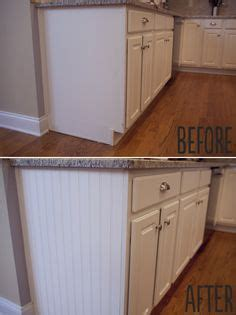 adding beadboard to kitchen cabinets 17 best images about updating oak furnishings on pinterest