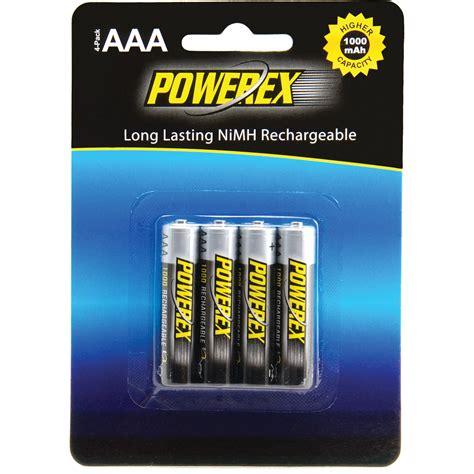 bat log in aaa 1 2v ni mh 1200 mah powerex rechargeable aaa nimh batteries 1 2v 1000mah