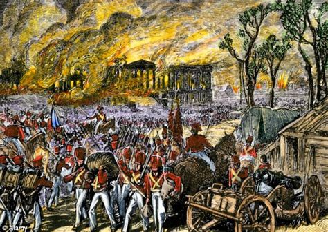 white house burned down war of 1812 special relationship where britain burned down white house and stole the