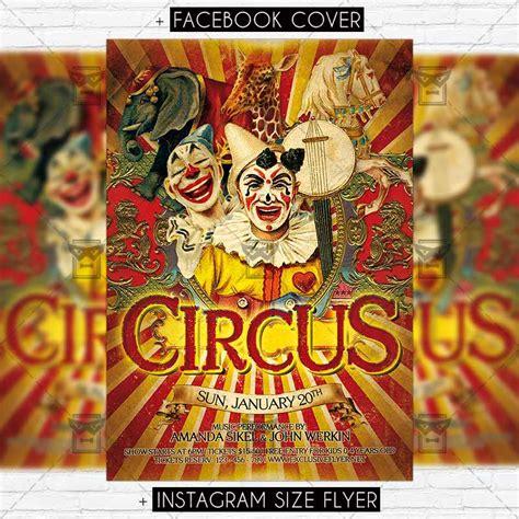 Circus Premium Flyer Template Exclsiveflyer Free And Premium Psd Templates Circus Poster Template Free