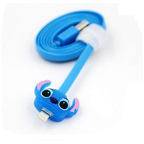 Handset Stitch 2 out of this world light up stitch usb phone cable disney