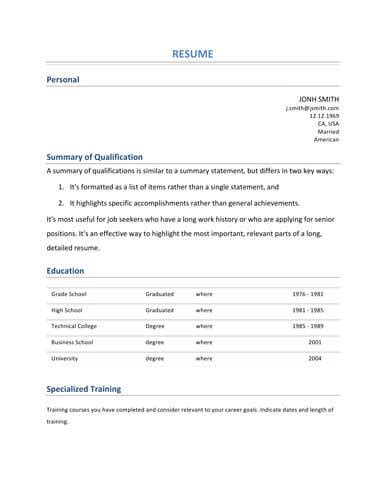 resume recent college graduate resume sample