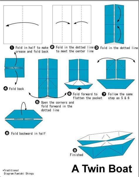 origami boat for sale origami twin boat origami paper folding pinterest