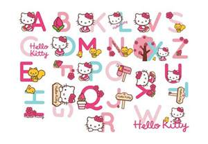 Hello Kitty Wall Hanging Letters » Ideas Home Design
