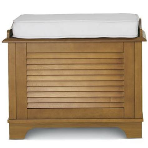 laundry basket bench jc penny louvered her bench 26x14x21 quot h 240 small