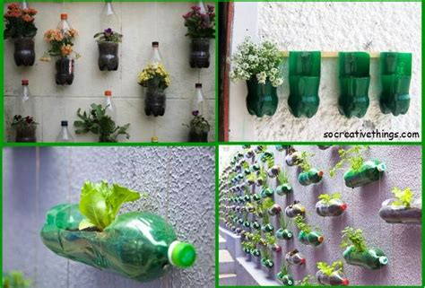 Easy Planter Ideas by Simple Planter Ideas For Small Gardens Plastic Bottles Diy Garden Ideas Recycled Materials