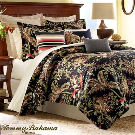 Tropical Bedding Set Jungle Drive Black Tropical Comforter Bedding By Bahama