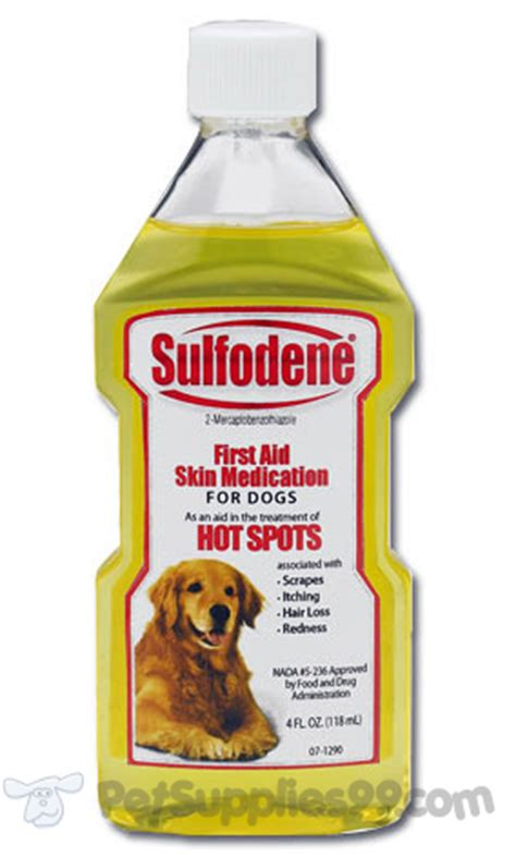 sulfodene for dogs sulfodene aid skin medication for dogs