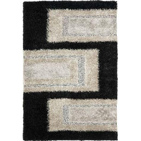 4 x 6 shag rug safavieh manhattan black shag rug 4 x 6 man522b 4