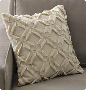 How To Make A Paper Pillow - diy origami pillow cover sewing