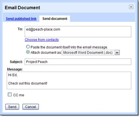 format email word get started with documents apps learning center