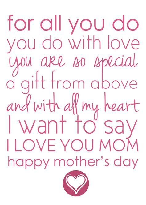 quotes for mothers day mothers day poems and quotes quotesgram