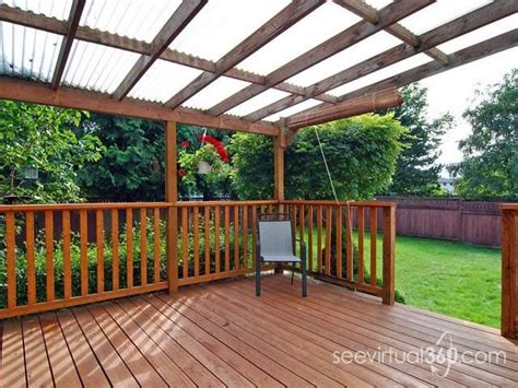 Diy Backyard Deck Ideas by 17 Best Ideas About Covered Decks On Deck