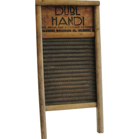 Laundry Washboard vintage laundry washboard columbus ohio dubl handi from