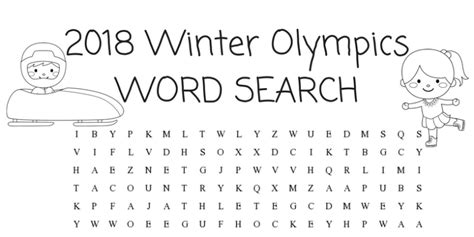 2018 winter olympics a complete guide and activity book for pyeongchang winter olympics books winter olympics activities for word search simply