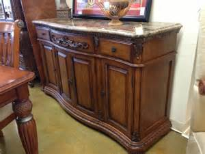 Buffet Table With Granite Top Consignment Shops Naples Consignment Furniture Naples