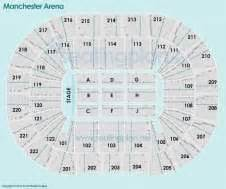 manchester arena floor plan manchester arena seating plan