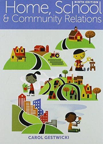 home school and community relations isbn 9781305619555 bundle home school and community