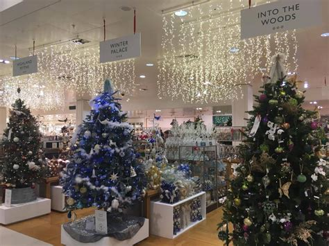 xmas decorations at bm the b m decorations up to 163 85 cheaper than similar lewis ones