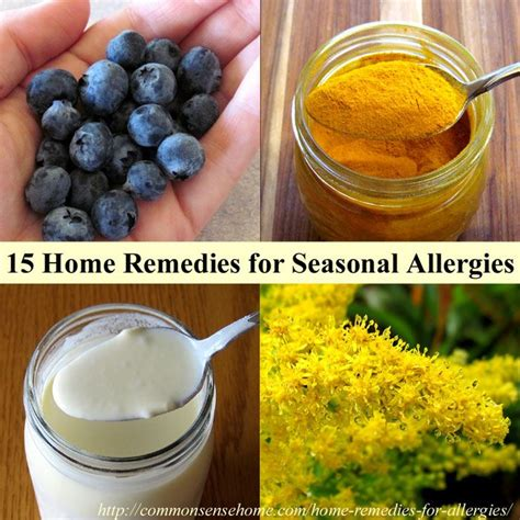 15 home remedies for seasonal allergies and hay fever