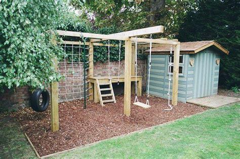 stand alone monkey bars for backyard children s playframe with swing monkey bars climbing net