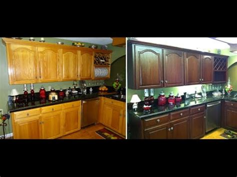 Changing Cabinet Color by How To Do It Yourself Kitchen Cabinet Color Change No