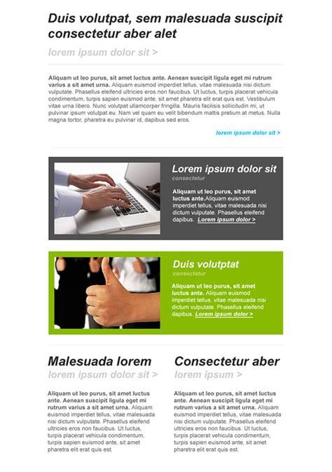 Online Publishing Newsletter Templates Email Marketing Getresponse Communications Newsletter Template