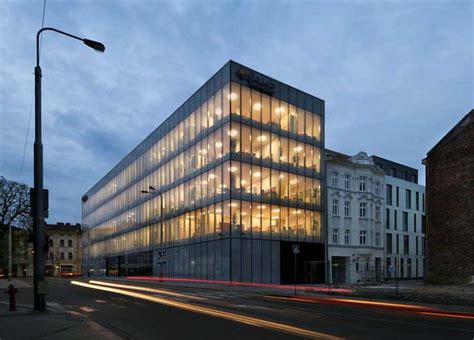 who says modern buildings are all glass fail ouch okalux glass buildings okatech okawood e architect