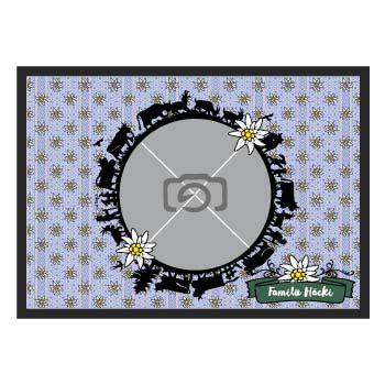 fussmatten logo besticken fussmatten bedrucken mit eigenem logo text und foto