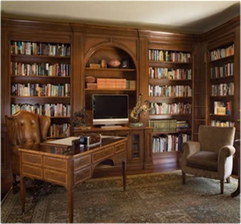 home office library houzz atherton library