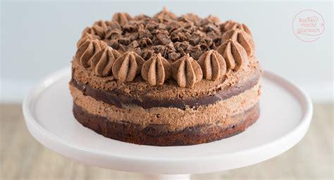 brownie kuchen rezept einfach schoko brownie torte backen macht gl 252 cklich