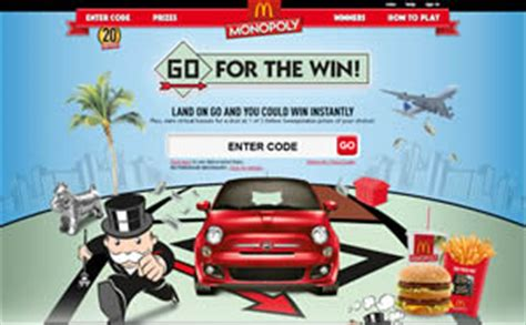 Monopoly Sweepstakes - 2012 mcdonald s monopoly sweepstakes 4 free game codes i crave freebies