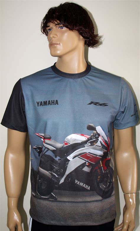 kaos tshirt yzf r6 yamaha yamaha yzf r6 t shirt with logo and all printed