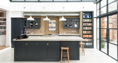 Handmade Painted Kitchens - shaker kitchens by devol handmade painted