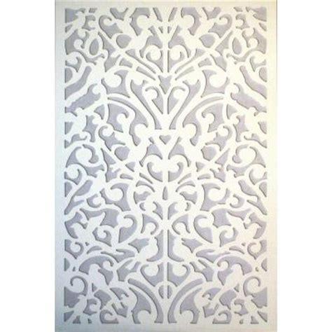 acurio latticeworks 1 4 in x 32 in x 4 ft white