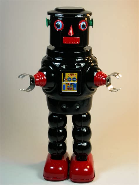 Ces 2007 Pero The Play Entertaining Robot by File Ha Ha Tin Wind Up Mechanical Robby Robot
