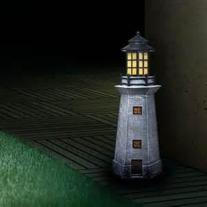 leuchtfiguren garten vorgarten terrasse balkon garten leuchtfigur leuchtturm