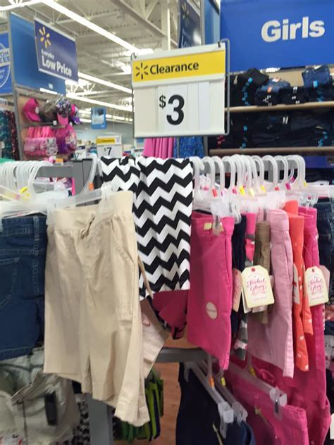 walmart summer clearance clothes as low as 1 00 each